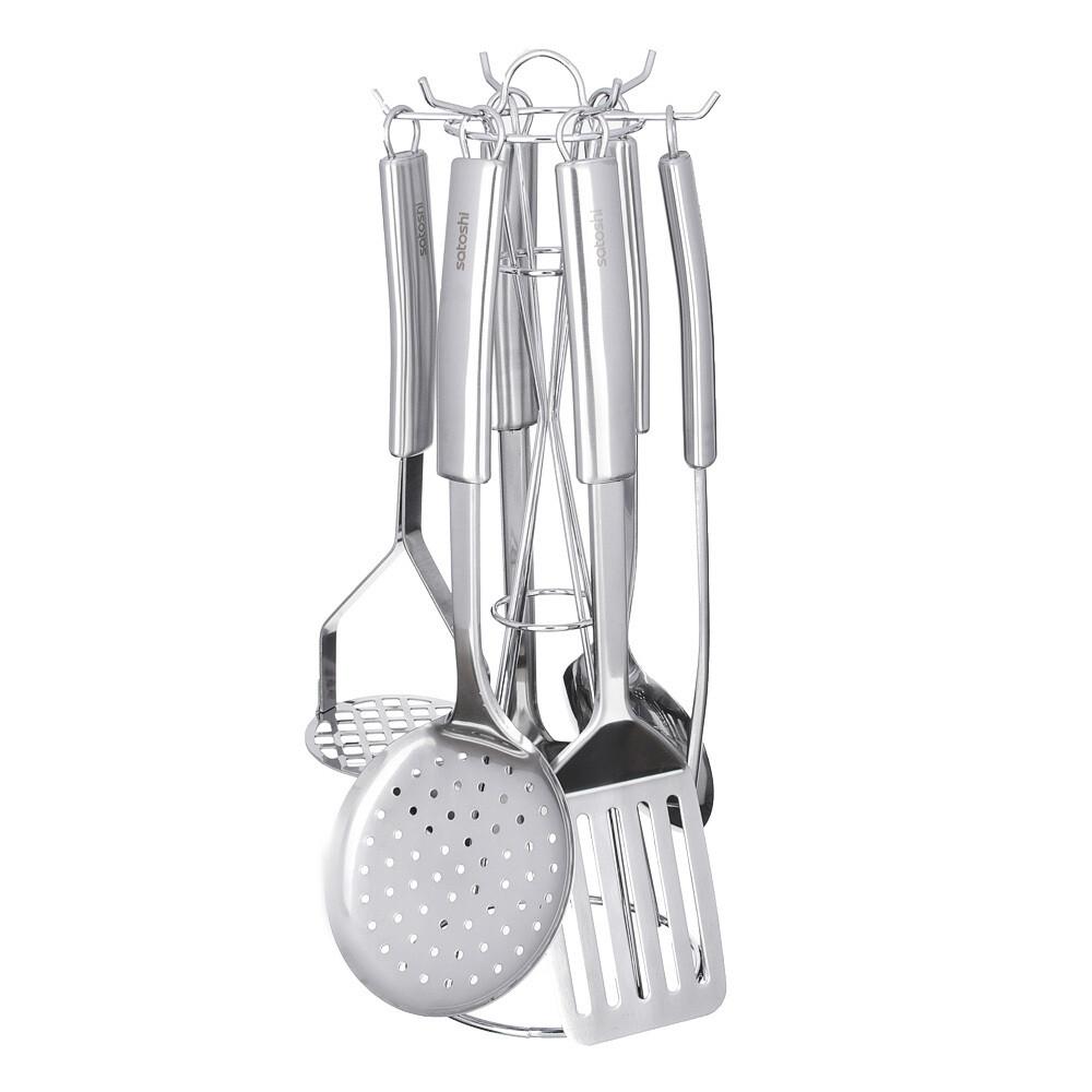 Набор кухонных принадлежностей 7 предметов Альфа Satoshi 882-256