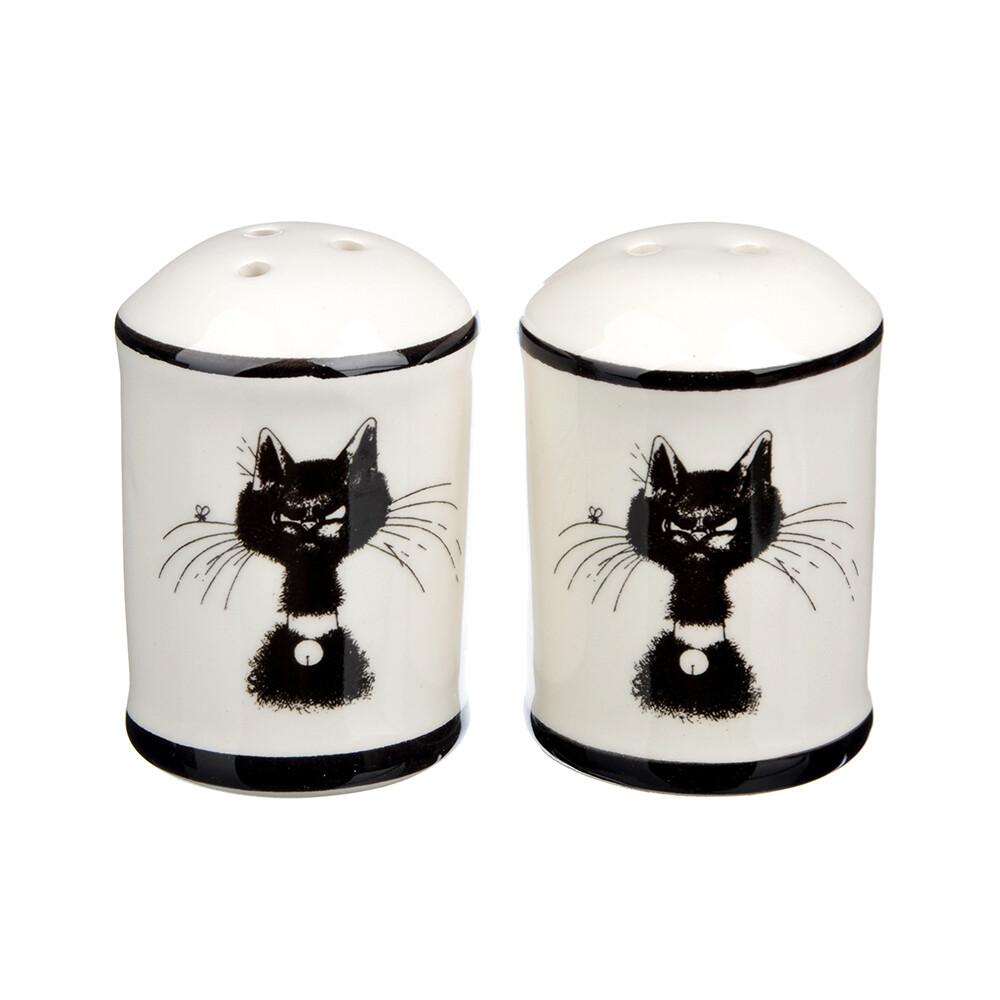 Набор для соли и перца Черный кот Millimi 820-697