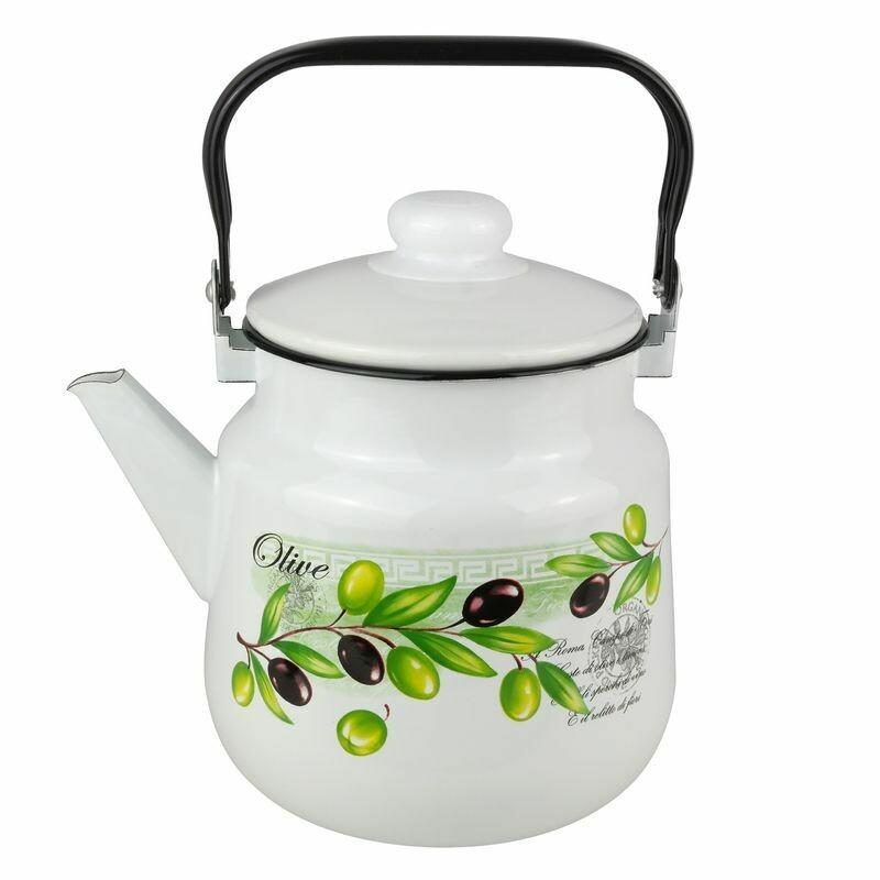 Чайник эмалированный 2.5 л 01-2711/4-Оливия