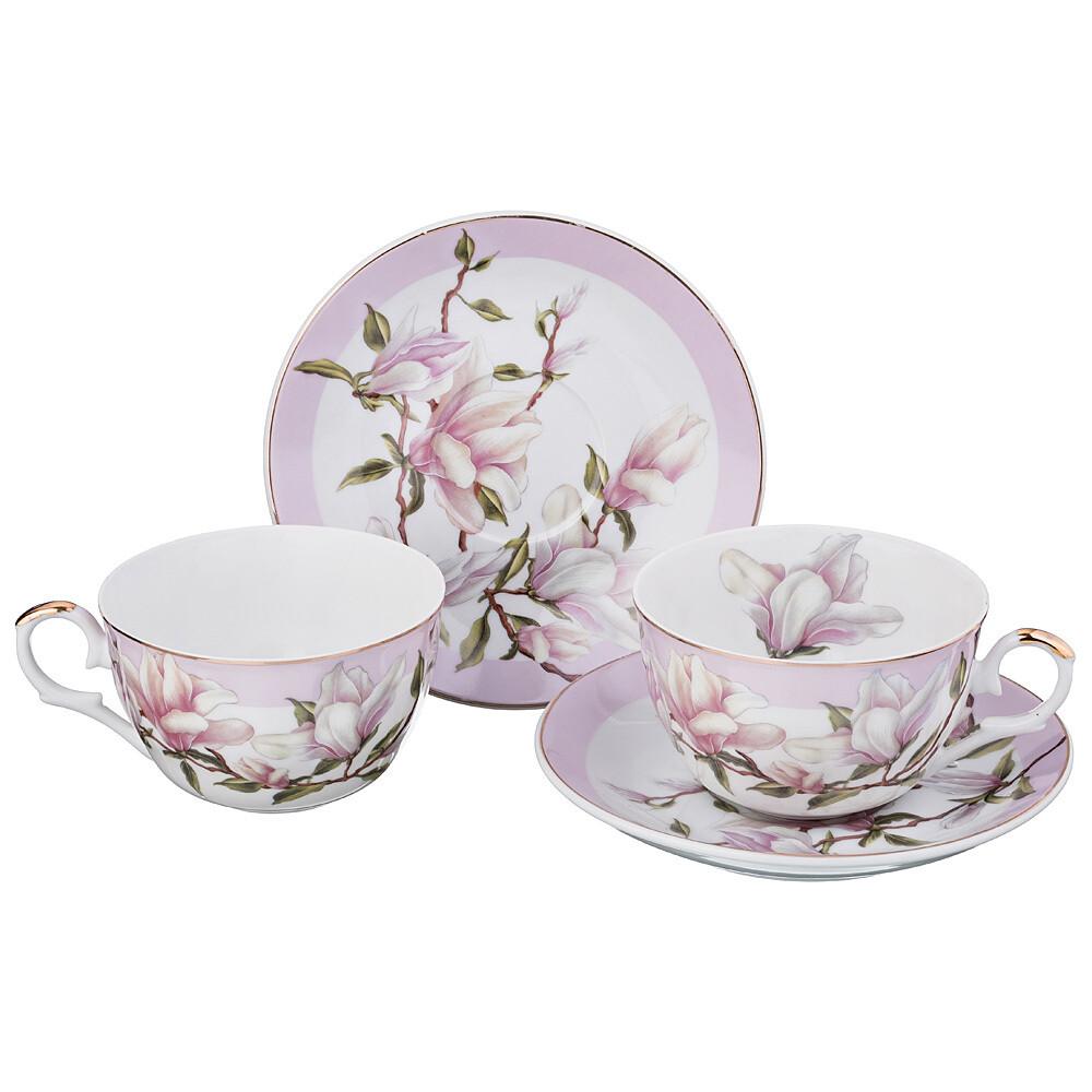 Чайный набор на 2 персоны, 4 предмета, 250 мл 69-1760