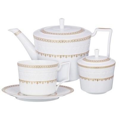 Наполеон набор чайный 14пр., чашка 300мл. 802-002