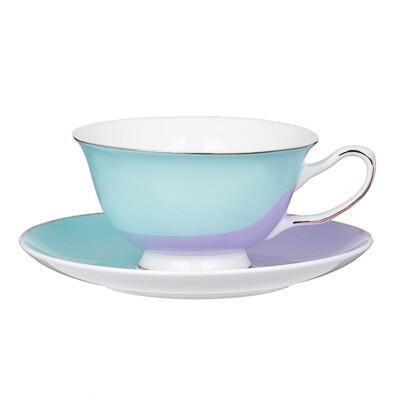 Зефир Набор чайный 12пр. 220мл, костян. фарф. 802-023