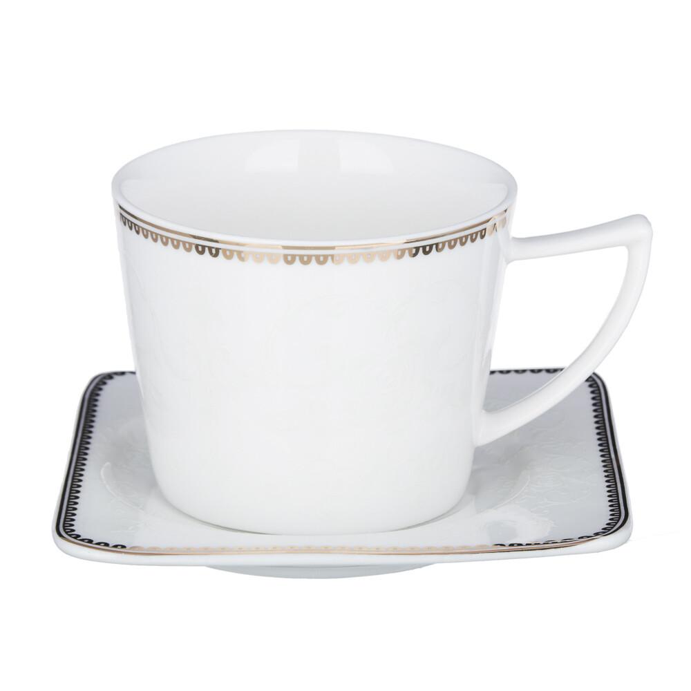 Катрин Набор чайный 2пр. 250мл, костян. фарф. 802-046