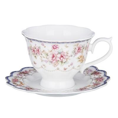 Мария-Антуанетта Наб. чайн. 2пр. 220мл, костян. фарф. 802-035