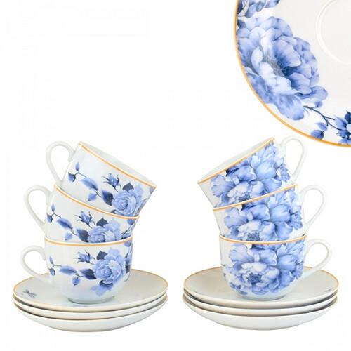 """Набор чайный """"Ноэль"""", 12 предметов, JEWEL ПС0006-09"""