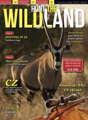 12 Month Subscription to Hunt The WILDLAND South Africa
