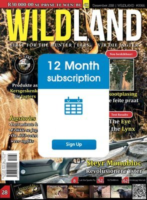 12 Month Subscription of Wildland Digital Magazine