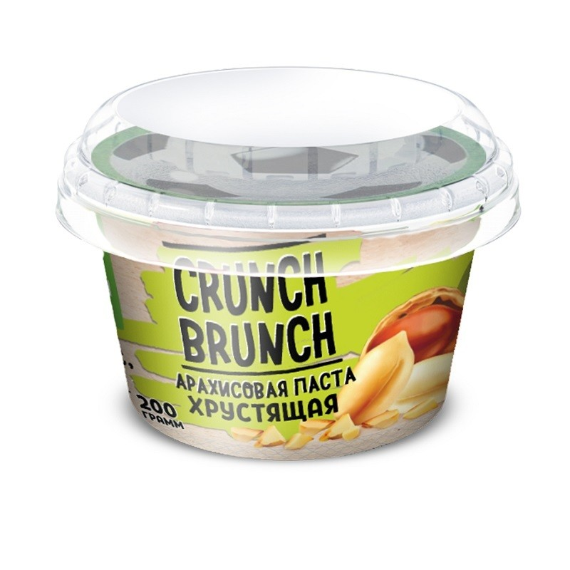Crunch Brunch Арахисовая паста хрустящая