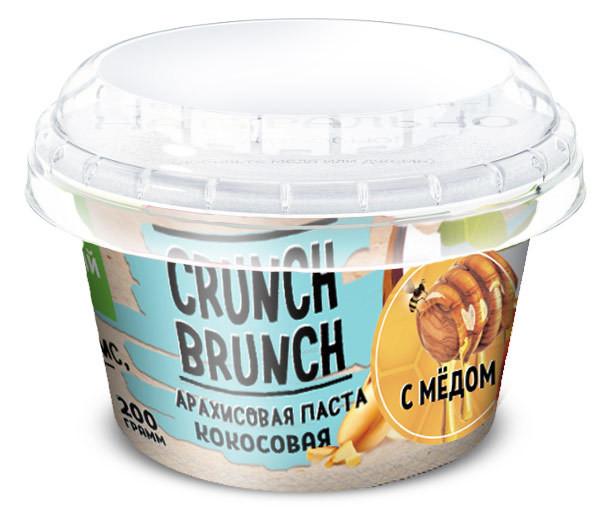Crunch Brunch Арахисовая паста Кокосовая с мёдом