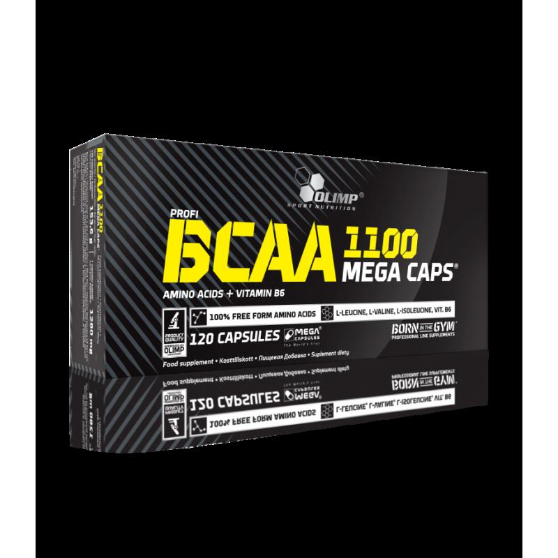 BCAA Mega Caps 1100 Olimp