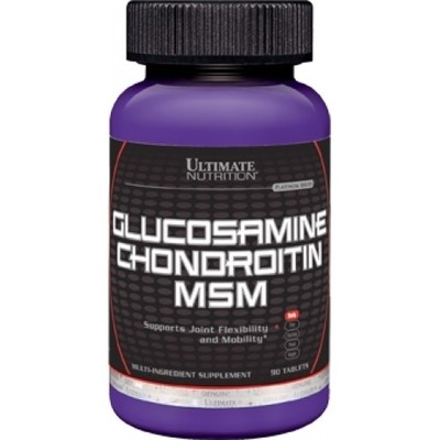 Glucosamine & Chondroitin + MSM Ultimate Nutrition