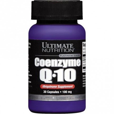 Coenzyme Q-10 Ultimate Nutrition 100 мг