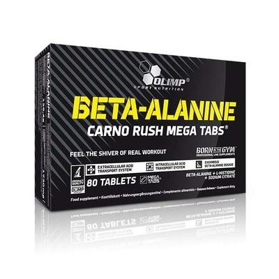 Beta-Alanine Carno Rush Mega 80 табл