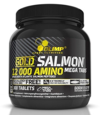 Gold Salmon 12000 Amino Mega Tabs Olimp