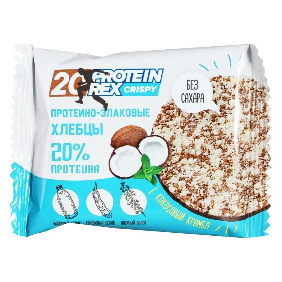 Протеино-злаковые хлебцы CRISPY 20% ProteinRex
