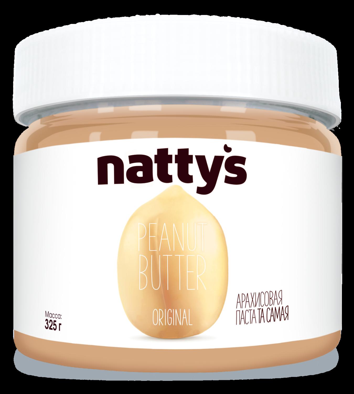 Арахисовая паста оригинальная Nattys