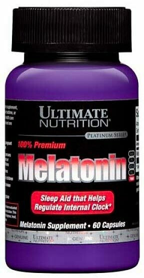 Melatonin 3 мг Ultimate Nutrition