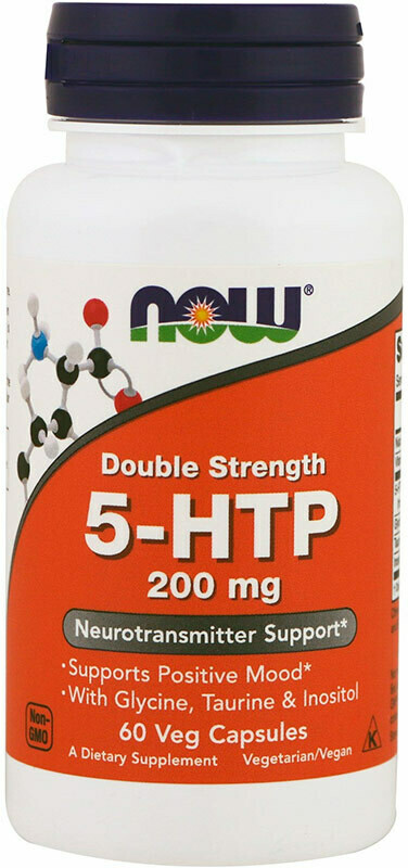 5-HTP 200 мг Now