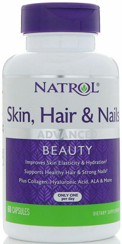 Skin Hair Nails Women`s Natrol