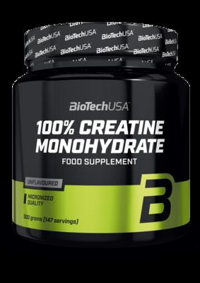 100 % Creatine Monohydrate BioTech USA