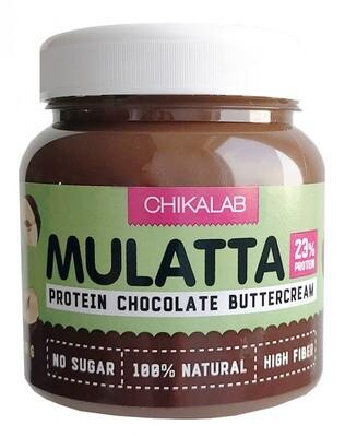 Mulatta Протеиновая шоколадная паста с фундуком Chikalab