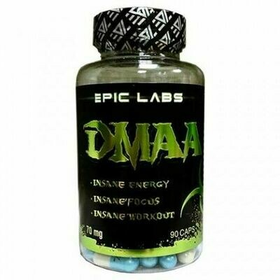 DMAA 70 мг.  Epic Labs