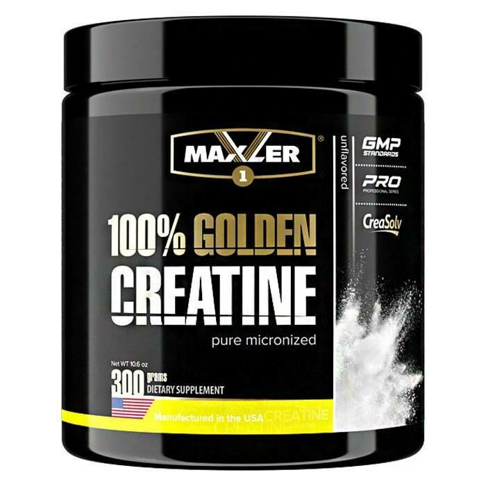 100% Golden Creatine Maxler