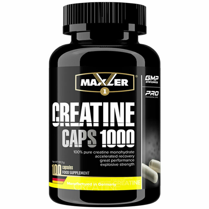 Creatine Caps 1000 Maxler