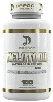 Melatonin 10mg  Dragon Pharma Labs