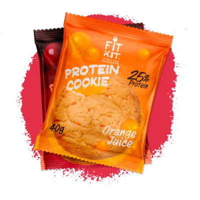 Protein Cookie Fit Kit