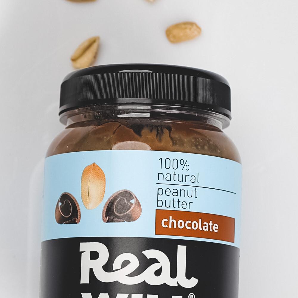 Арахисовая паста с шоколадом Real Will