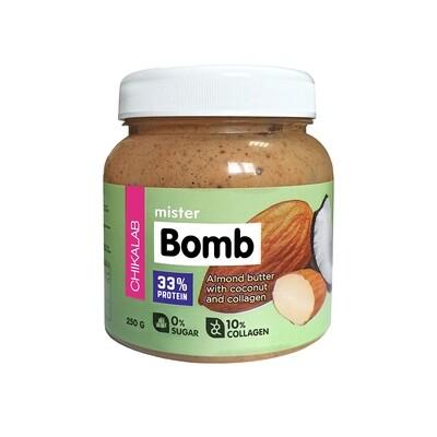 Mister Bomb Миндальная паста с кокосом Chikalab