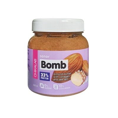 Senor Bomb Миндальная паста с морской солью Chikalab