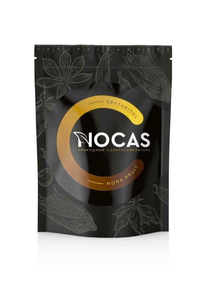 Сахарозаменитель Nocas (эритрит и монах фрукт) Mr. Djemius ZERO