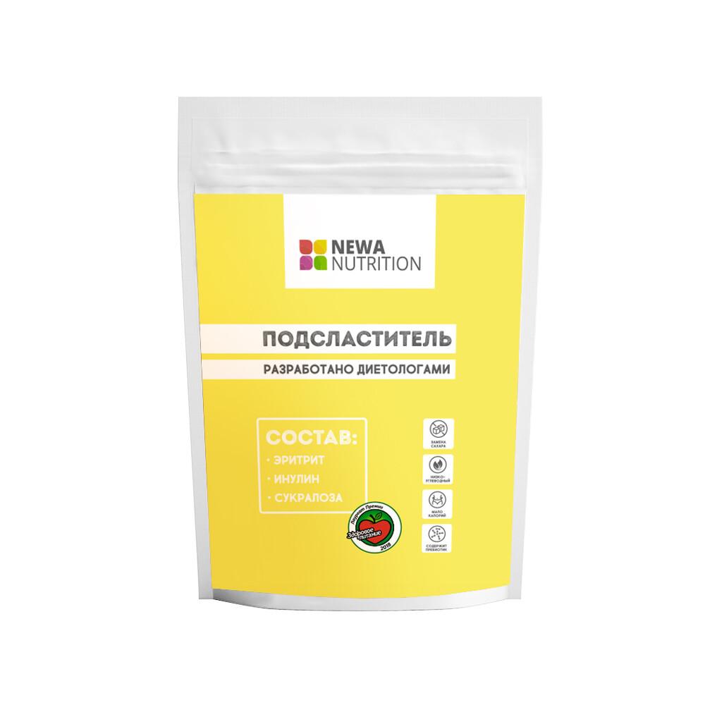Заменитель сахара №1 (эритрит, инулин, сукралоза) Newa Nutrition
