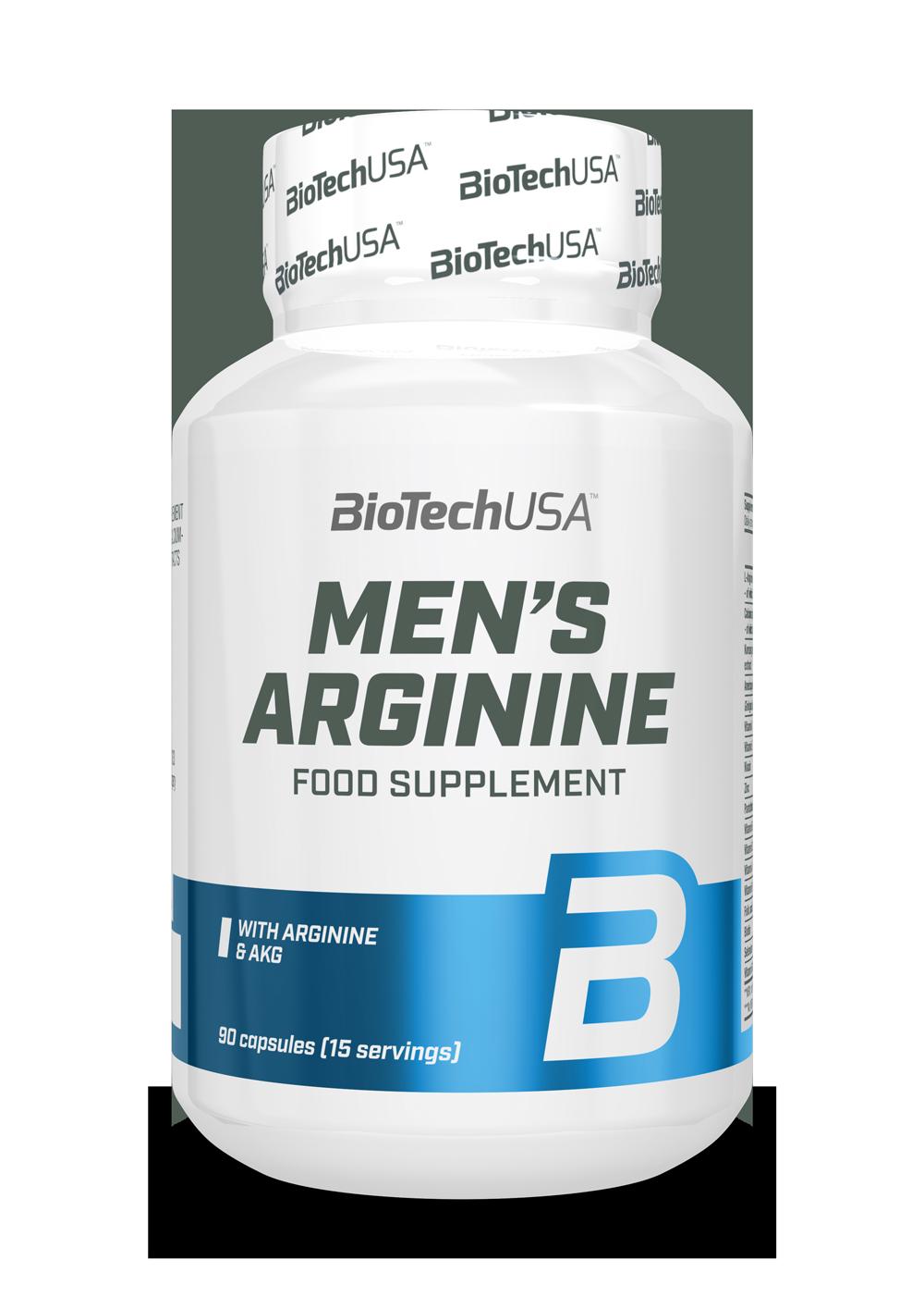 Mens Arginine BioTech USA