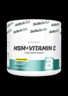 MSM + Vitamin C  BioTech USA