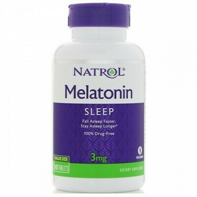 Melatonin 3 mg Natrol