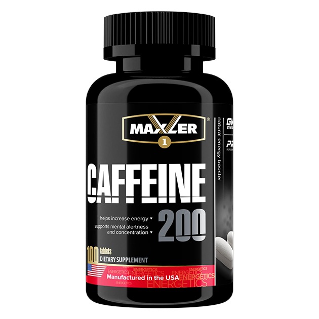 Caffeine 200 мг Maxler
