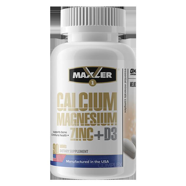 Calcium Magnesium Zinc + D3 Maxler