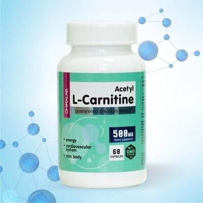 L-Carnitine Acetyl 500mg Chikalab