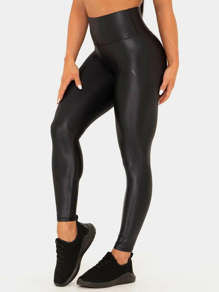 Леггинсы Wet look Ryderwear