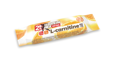 Протеиновый батончик EXTRA 25% с L-карнитином ProteinRex