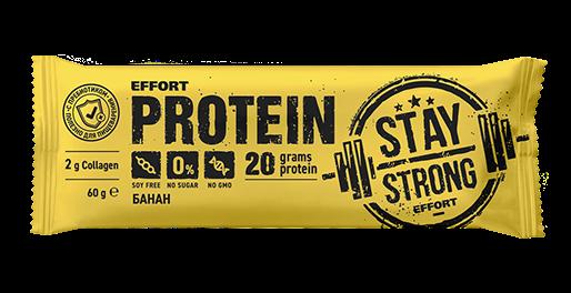 Батончик protein Bar Effort