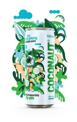 Кокосовая вода Coconaut негазированная
