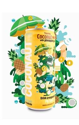 Кокосовая вода Coconaut