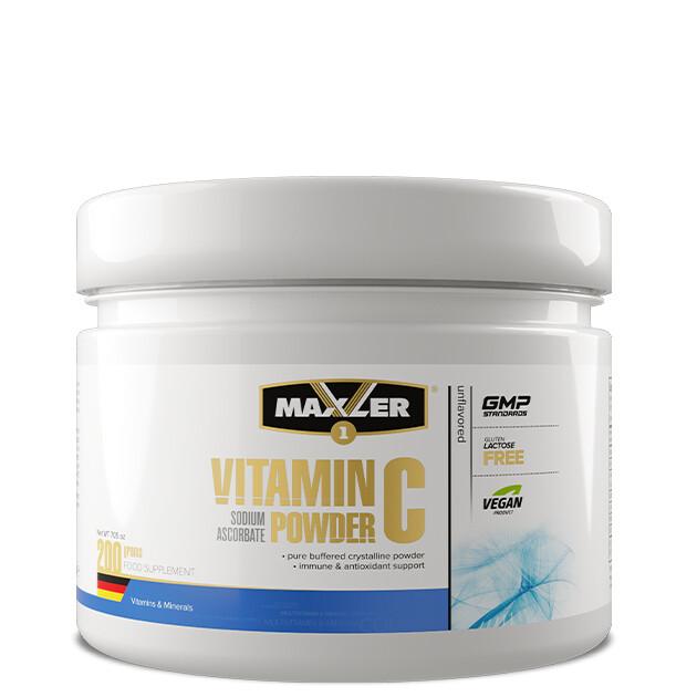 Vitamin C Sodium Ascorbate Powder Maxler