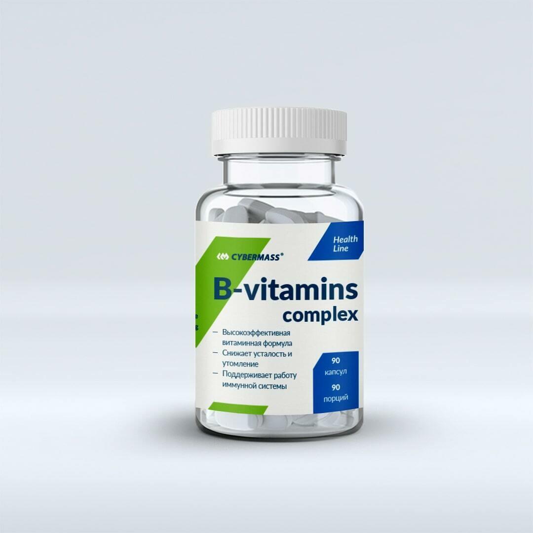 B-Vitamins Complex CyberMass