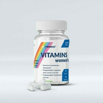 Vitamins Women's CyberMass