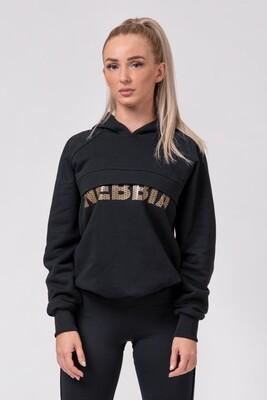 "Толстовка Long hoodie ""INTENSE FOCUS"" 825 NEBBIA"